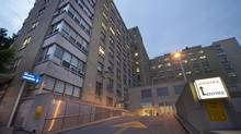 Hospital Notre-Dame on Rue Sherbrooke Est is seen in Montreal on June 27, 2012. (Peter McCabe/THE CANADIAN PRESS)