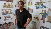 James Lao, now a part-time student at Wilfrid Laurier University in Waterloo, was diagnosed with schizophrenia at 19. (Glenn Lowson For The Globe and Mail)