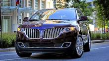 The 2011 Lincoln MKX. (Ford Ford)