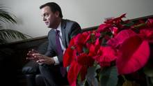Opposition leader Tim Hudak is seen at Queen's Park in Toronto, Ontario Thursday, December 13, 2012. (Kevin Van Paassen/The Globe and Mail)