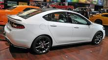 2013 Dodge Dart. (Michael Bettencourt for The Globe and Mail)