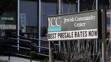 The Jewish Community Center is seen in Tarrytown, N.Y., Tuesday, Feb. 28, 2017. U.S. prosecutors in New York charged a St. Louis, Missouri, man on Friday in connection with at least eight bomb threats made against Jewish organizations across the country. (Seth Wenig/AP)