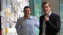 Jamie Schneiderman and Ben Baldwin, co-founders of ClearFit.