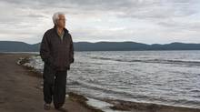 Officials have determined partial skeletons discovered near the surface of a stony beach on Quebec's Gaspé peninsula three years ago are those of three children from Europe who showed signs of malnutrition. They believe they were almost certainly Irish migrants who died in a 19th-century shipwreck in Canadian waters as they fled poverty in search of a better life. Georges Kavanagh, a unilingual francophone today, feels a strong pull to the story of his Irish forebears. His ancestor survived the shipwreck. (Jacques Gratton For The Globe and Mail)