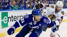 On pace for only 30 goals and 60 points, Tampa Bay Lightning star Steven Stamkos is projected to score his lowest per-game totals since he was an 18-year-old rookie. (Scott Iskowitz/Getty Images)