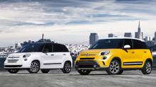 2014 Fiat 500L Lounge and 2014 Fiat 500L Trekking (Chrysler)