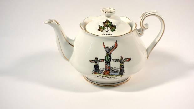 Ellen Neel also designed Totemware ceramics.