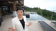 Chinese entrepreneur Qiqi Hong left Beijing to live in West Vancouver. The $6-million property is one of five that she owns in the city. (Iain Marlow/The Globe and Mail)