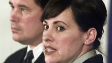 RCMP Corporal Catherine Galliford made headlines last year with explosive allegations of widespread sexual harassment within the national police force. (Chuck Stoody/Canadian Press/Chuck Stoody/Canadian Press)