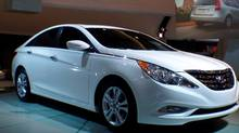 The 2011 Sonata. (Michael Vaughan for The Globe and Mail)