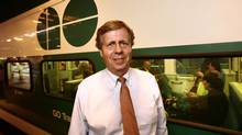 Robert S. Prichard, then-President and CEO of Metrolinx, photographed at Union Station., Toronto on September 9, 2009. (FERNANDO MORALES/THE GLOBE AND MAIL)