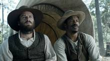 Arnie Hammer and Nate Park star in the much-hyped slave rebellion epic The Birth of a Nation.