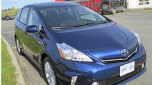 2012 Toyota Prius v. (Michael Vaughan for The Globe and Mail)