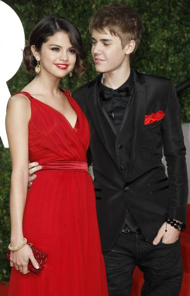 Ah, young love. How quickly it fizzles out! It seemed like only yesterday Selena was yelling at Justin on the red carpet. The two reportedly called it quits in the fall, but there are rumours that they're mending their rocky relationships. Sorry, lovesick Bielebers. (Danny Moloshok/Reuters)