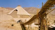 Xstrata's Lomas Bayas mine in the Antofagasta region of northern Chile.