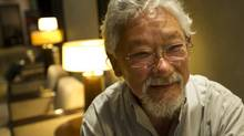 David Suzuki is photographed at Intercontinental Hotel in Toronto in September, 2012. Mr. Suzuki was selected as Canada's top role model in a new poll. (Kevin Van Paassen/The Globe and Mail)
