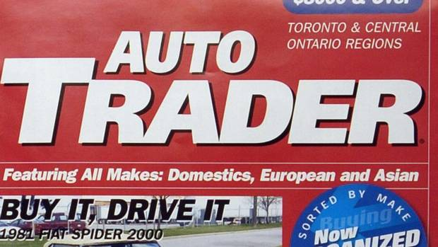 How do you advertise in Auto Trader in British Columbia?