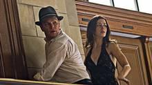 "Matt Damon and Emily Blunt in a scene from ""The Adjustment Bureau"" (Andrew Schwartz)"