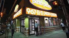 A Pizza Pizza location on Bloor Street in Toronto, Ont. (Kevin Van Paassen/The Globe and Mail)