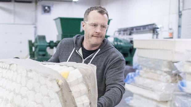 No Rest For Calgary Mattress Recycling Entrepreneur The