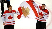 Team Canada's Sarah Vaillancourt at the 2010 Winter Olympics in Vancouver (Scott Gardner/THE CANADIAN PRESS)