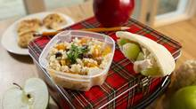 With five simple ingredients, Bonny Reichert puts together simple and effective back-to-school snacks. (Kevin Van Paassen/The Globe and Mail)