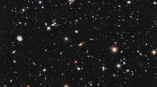 A new, improved portrait of Hubble's deepest-ever view of the universe, called the eXtreme Deep Field, or XDF, shows a small area of space in the constellation Fornax, created using Hubble Space Telescope data from 2003 and 2004. (HANDOUT/REUTERS)