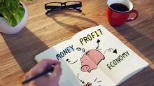Businessman with Financial and Saving Issue (Robert Churchill/Getty Images/iStockphoto)