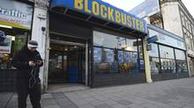 Blockbuster in the U.K. has appointed Deloitte to seek a buyer for all or parts of the business, just days after rival HMV hit the rocks. (PAUL HACKETT/Reuters)