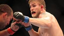 "Alexander Gustafsson in action against Mauricio ""Shogun"" Rua during a UFC on Fox event (Gregory Payan/The Associated Press)"