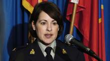 RCMP Cpl. Catherine Galliford is seen in a March 2004 file photo. (Nick Didlick/Reuters/Nick Didlick/Reuters)