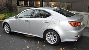 2011 Lexus IS 350 AWD.