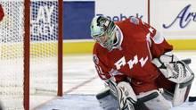 AHL Western Conference goalie Matt Hackett (Mel Evans/The Associated Press)