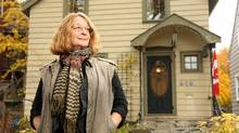 Lynne FitzGerald will have to sell her home in Halifax after accumulating bills while she was sick. () (Paul Darrow for the Globe and Mail)