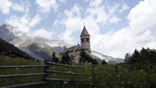 The mountainous northern Italian region of Alto Adige (or South Tyrol) is home to the lagrein grape. (Dominic Ebenbichler/Reuters)