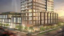 Paintbox Condominiums, Regent Park, Toronto. (The Daniels Corp.)