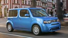 The Nissan cube gets a (dis)honouarble mention. (Nissan)
