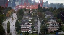 Million-dollar-plus houses started becoming common in east Vancouver in 2012 and have since become nearly all there is. (DARRYL DYCK/The Globe and Mail)