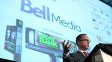 President of Bell Media Kevin Crull delivers his keynote speech November 18, 2013 at the International Institute of Communications conference in Ottawa. (Dave Chan For The Globe and Mail)