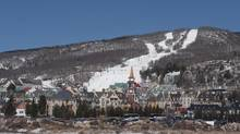 Denver-based Intrawest owns Mont Tremblant in Quebec, pictured, and 50 per cent of Blue Mountain in Ontario. (Peter Mccabe/The Canadian Press)