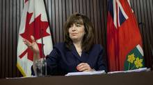 'We found that the electricity power planning process had essentially broken down over the past decade,' said Ontario Auditor-General Bonnie Lysyk. (Moe Doiron/The Globe and Mail)