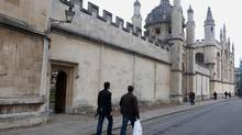 Oxford University ranks in the top six universities by reputation according to The Times Higher Education. (ANDREW TESTA/NYT)