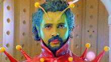 In this image released by Warner Bros. Records, musician Wayne Coyne is shown in a scene from Christmas on Mars.