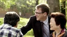B.C. New Democrats, targeted by third-party ads as the May 14 provincial election looms, are responding with a wave of TV ads targeting B.C.- Liberal-held ridings.