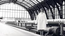 Many sojourns in Belgium's second-largest city start at Antwerpen-Centraal Station, where this voluminous overcoat by Emmanuelle Lebas competes for attention with Clement Van Bogaert's soaring iron-and-glass train shed. (Jean-François Carly for The Globe and Mail)