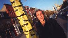 Bud Osborn chronicled life in the Downtown Eastside in six books of poetry, one of which won the City of Vancouver Book Award. (PATTI GOWER/THE GLOBE AND MAIL)