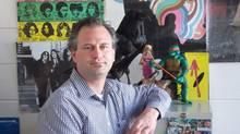 English teacher Allan Deck, of Edmonton's Jasper Place High School. (Allan Deck)