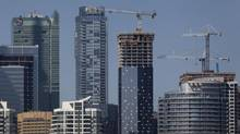 Construction in downtown Toronto Sep 24 2013. (Moe Doiron/The Globe and Mail)