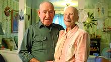 Allen and Violet Large, of Lower Truro, N.S.. The couple donated their multi-million dollar lottery winnings to charities. (Paul Darrow for the Globe and Mail/Paul Darrow for the Globe and Mail)