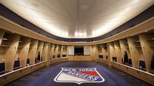 One of the first orders of business in the from-the-ground-up reno was to give 21st century digs to the Rangers and Knicks, whose locker rooms are adjacent and share many of the same medical and treatment facilities. The Rangers' new room is airy and expansive, and as seems to be the norm in new arenas, is roughly shaped like an arena. (Micheal Falco/Michael Falco/The Globe and Mail)